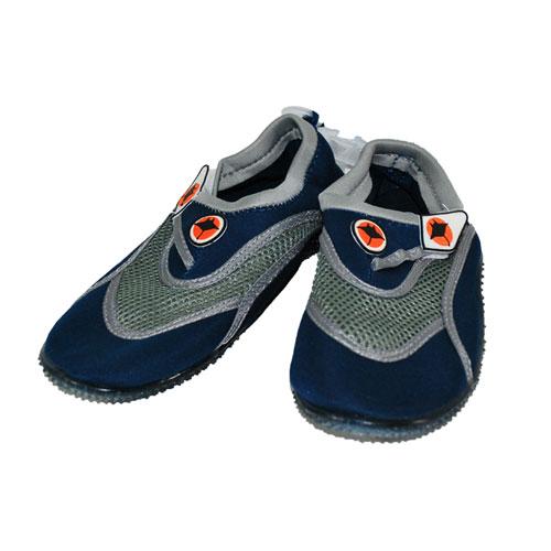 zapatillas de agua gris-azul